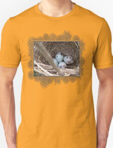 Four Red-Winged Blackbird Eggs T-Shirt