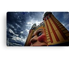 THE FACE OF SYDNEY -LUNA PARK Canvas Print