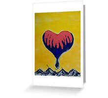 Heart Above the Clouds Greeting Card