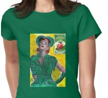 1940's Perfume Ad Womens Fitted T-Shirt
