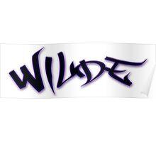 Wilde - For Julian Poster