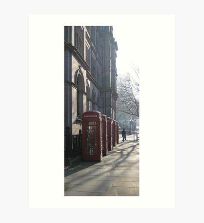Telephone Line? Art Print