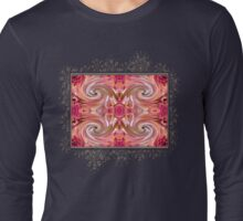 Valley Porcupine Abstract Long Sleeve T-Shirt