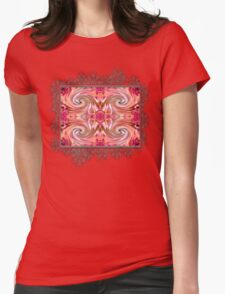 Valley Porcupine Abstract Womens Fitted T-Shirt