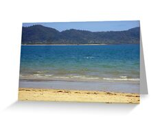 Dunk Island seen from South Mission Beach Greeting Card