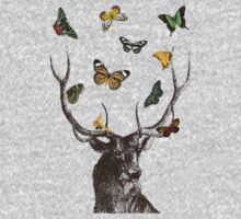 The Stag & Butterflies Kids Clothes