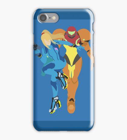Samus Aran (Light Blue) - Super Smash Bros. iPhone Case/Skin