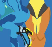 Samus Aran (Light Blue) - Super Smash Bros. Sticker