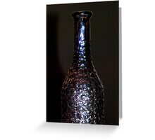 Irridesence in a Bottle Greeting Card