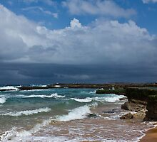 Southern end of Turrimetta beach by Doug Cliff