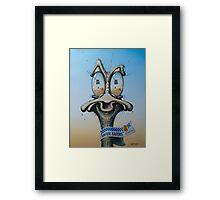 Kakadu Kapers Framed Print