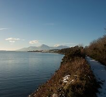 The Mournes From Murlough Bay by Jon Lees