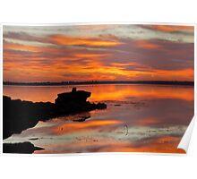 Tuggerah Lakes Sunrise. Poster