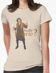Rumplestiltskin - Really Dearie? Womens Fitted T-Shirt