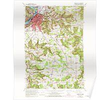 USGS Topo Map Oregon Oregon City 281002 1961 24000 Poster