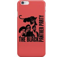 BLACK PANTHER PARTY iPhone Case/Skin