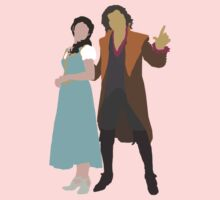Rumbelle - Once Upon a Time One Piece - Short Sleeve