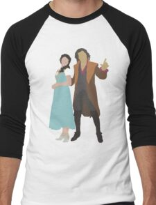 Rumbelle - Once Upon a Time Men's Baseball ¾ T-Shirt