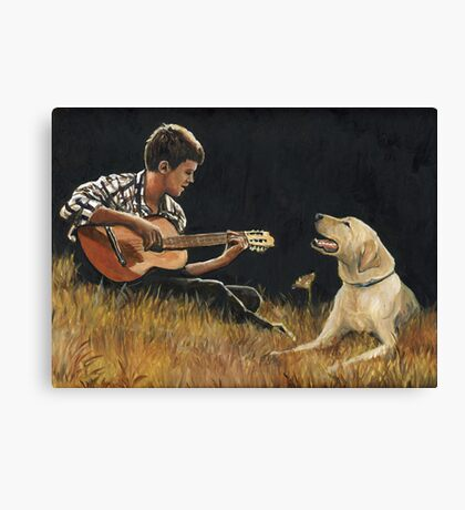 Sing Along Canvas Print