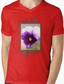 Viola named Sorbet Violet Beacon Mens V-Neck T-Shirt