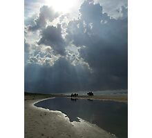 reins before the storm Photographic Print