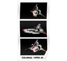 Colonial Viper MkII Poster