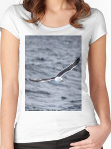 Flying Gull Women's Fitted Scoop T-Shirt