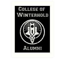 College of Winterhold Alumni Art Print