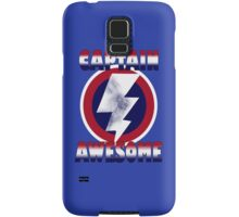 captain awesome Samsung Galaxy Case/Skin