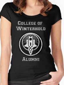 College of Winterhold Alumni Women's Fitted Scoop T-Shirt