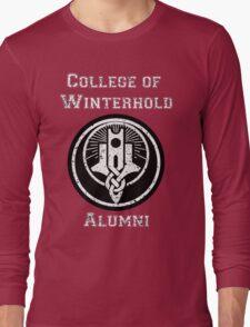 College of Winterhold Alumni Long Sleeve T-Shirt