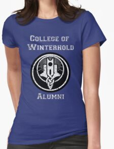 College of Winterhold Alumni Womens Fitted T-Shirt