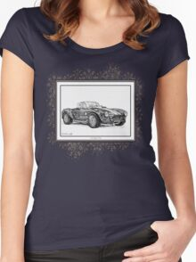 1965 Shelby AC Cobra Women's Fitted Scoop T-Shirt