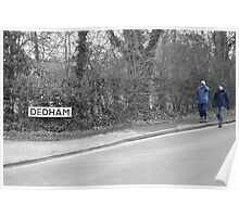 Welcome to Dedham Poster