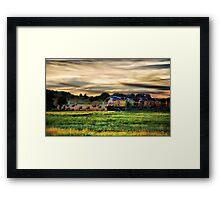 Country Choo Choo 2 Framed Print