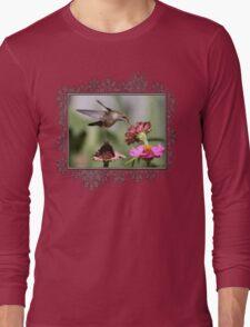 A Sip From a Zinnia Long Sleeve T-Shirt