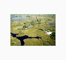 Aerial of Okavango Delta, Botswana (12) Unisex T-Shirt