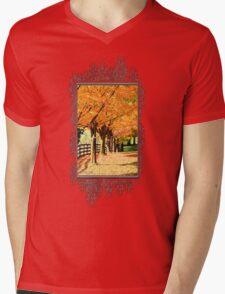 Fall Foliage Mens V-Neck T-Shirt
