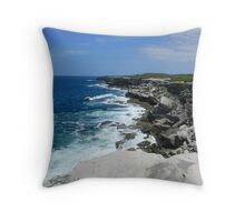 The Edge at Kurnell Throw Pillow