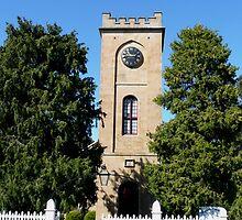 St Luke the Physician Anglican Church, Richmond, Tasmania by Margaret  Hyde