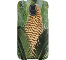 Plant with yellow flower Samsung Galaxy Case/Skin