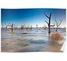 Lake Menindee 001 Poster