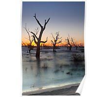 Lake Menindee 002 Poster