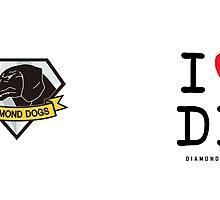 I <3 Diamond Dogs by unaspi