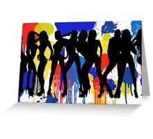 Girls, Girls, Girls Greeting Card