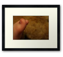 Little Tootsies Framed Print