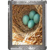 Four American Robin Eggs iPad Case/Skin