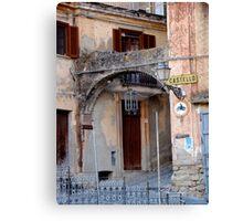 Entering Old Amantea Canvas Print