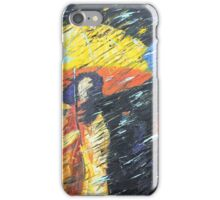 Rainy Day in the Burg iPhone Case/Skin