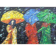Rainy Day in the Burg Photographic Print